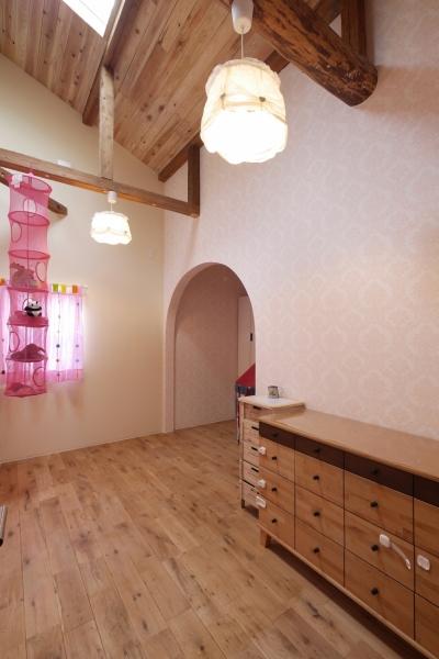 子供室 (空掘の家:大阪の中古住宅リノベーション)
