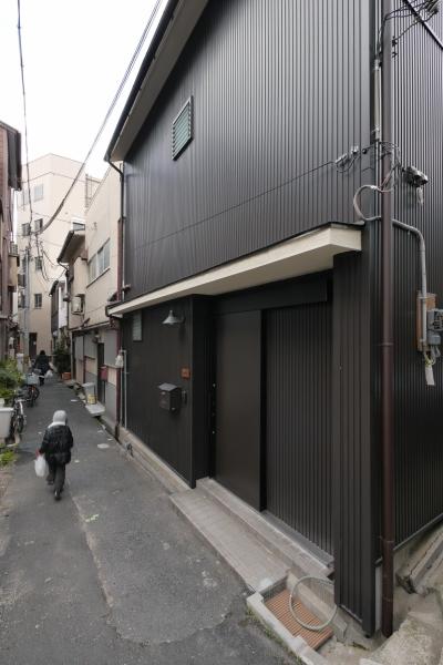 空掘の家:大阪の中古住宅リノベーション (外観)