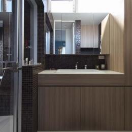 ヨロイ-洗面室
