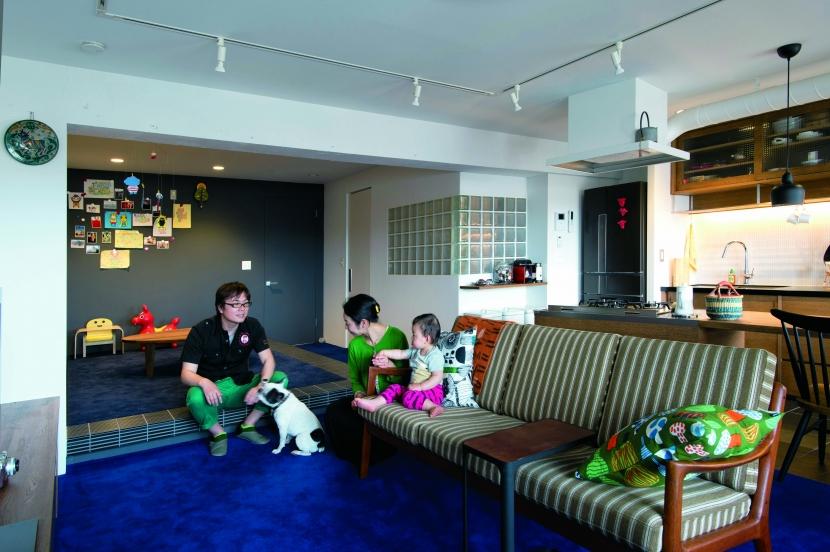 リフォーム・リノベーション会社:ブルースタジオ「のびのびと暮らせる快適SOHO」