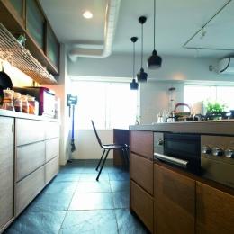 のびのびと暮らせる快適SOHO (キッチン2)
