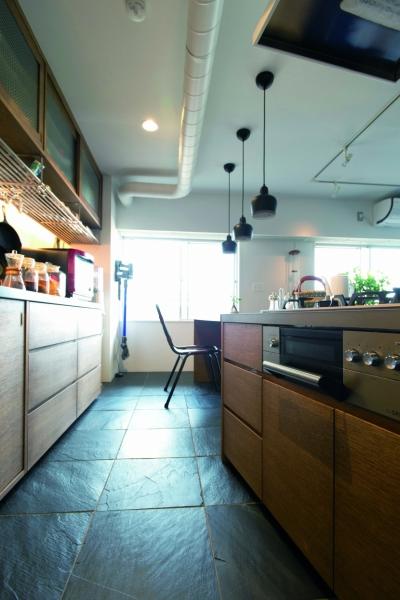 キッチン2 (のびのびと暮らせる快適SOHO)