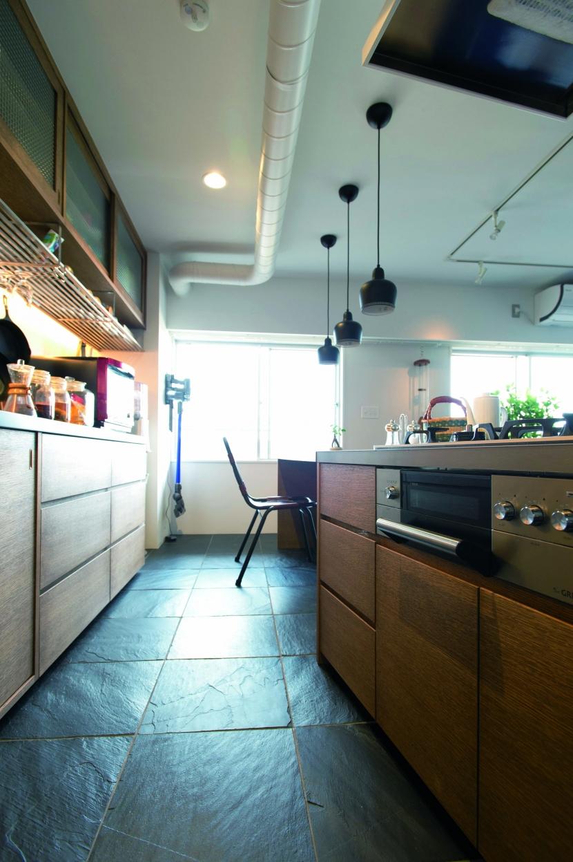 のびのびと暮らせる快適SOHOの写真 キッチン2