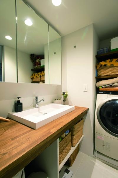 洗面室 (のびのびと暮らせる快適SOHO)