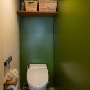 なじみの街で見つけたヴィンテージなメゾネットに住むの写真 トイレ