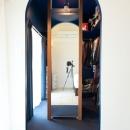 ブルースタジオの住宅事例「なじみの街で見つけたヴィンテージなメゾネットに住む」