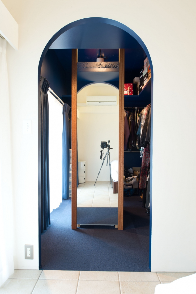 なじみの街で見つけたヴィンテージなメゾネットに住むの部屋 クローゼット