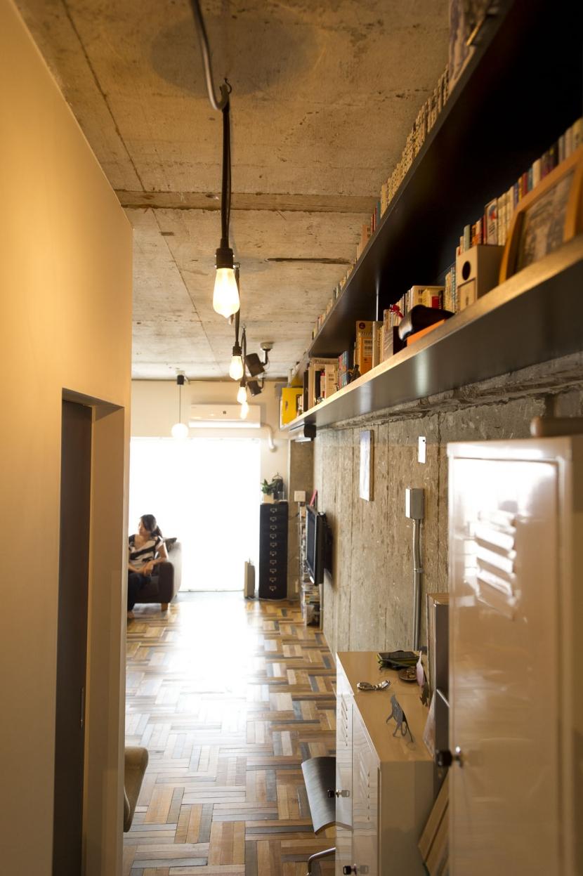 LDKをできるだけ広く。その分寝室は最小限の広さにの写真 玄関付近