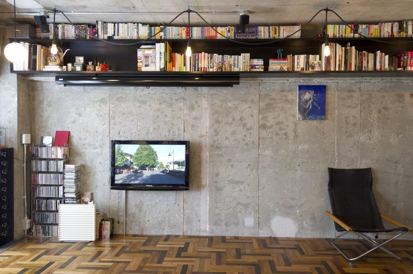 LDKをできるだけ広く。その分寝室は最小限の広さにの写真 リビング