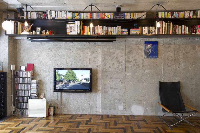 LDKをできるだけ広く。その分寝室は最小限の広さにの部屋 リビング
