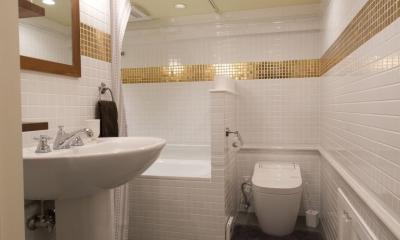 LDKをできるだけ広く。その分寝室は最小限の広さに (トイレ・バスルーム)