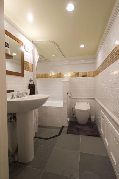 トイレ・バスルーム (LDKをできるだけ広く。その分寝室は最小限の広さに)