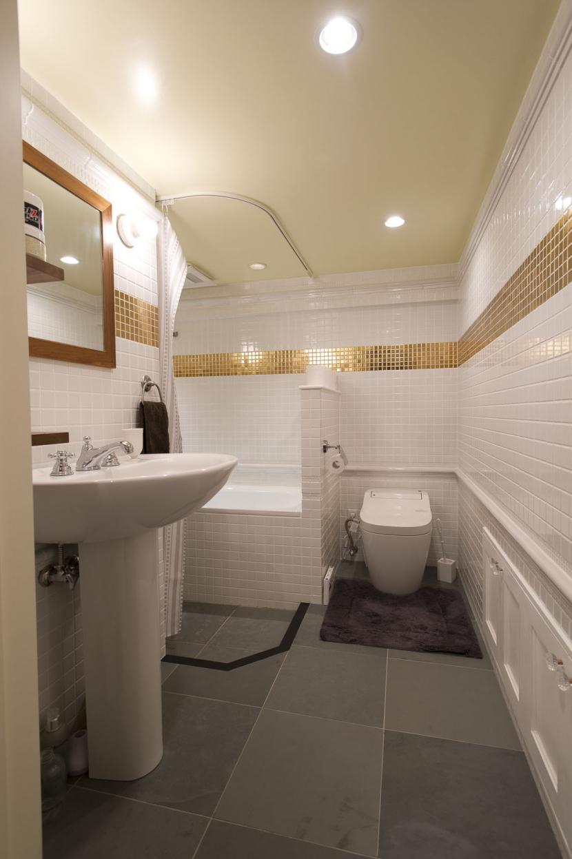 LDKをできるだけ広く。その分寝室は最小限の広さにの写真 トイレ・バスルーム