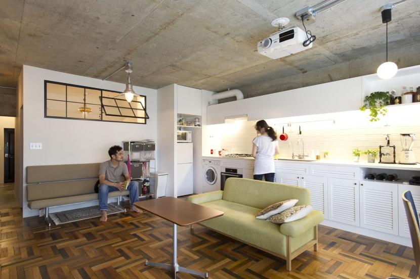 リノベーション・リフォーム会社:ブルースタジオ「LDKをできるだけ広く。その分寝室は最小限の広さに」