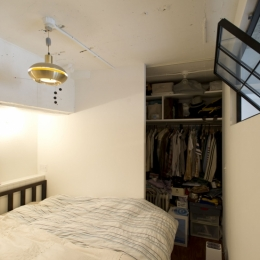 LDKをできるだけ広く。その分寝室は最小限の広さに-ベッドルーム