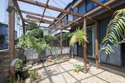 庭 (中古戸建てリノベの既成概念を変えるモデルケース)