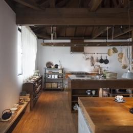 2階キッチン~ダイニング