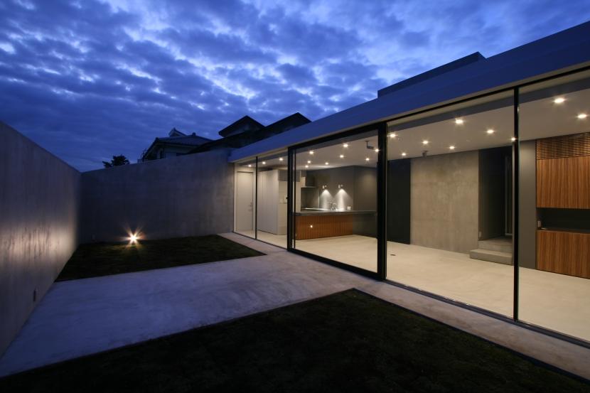 G-house (LDK_夕景)