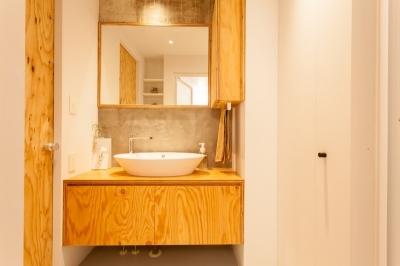 洗面所 (新築選びは妥協の連続? リノベーションで 納得できる住まいづくり)