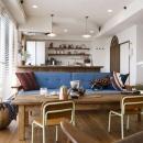 LOHAS studio ロハススタジオの住宅事例「モノをしまい込まずに 楽しみながら「見せる」収納を!」