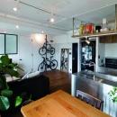 リノベる。の住宅事例「イメージは無骨で男っぽいサンフランシスコのインテリア」