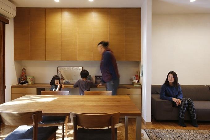 リフォーム・リノベーション会社:株式会社エキップ「空き家になった実家の二世帯住宅の一世帯をフルリノベーション」