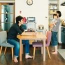 アートアンドクラフトの住宅事例「落ち着いた色あいでまとめた住まい」