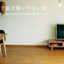 アートアンドクラフトの住宅事例「対面キッチンで皆が集いやすい家」