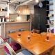 アクセスのよいセンター収納と もののサイズに合わせた造作家具がカギ