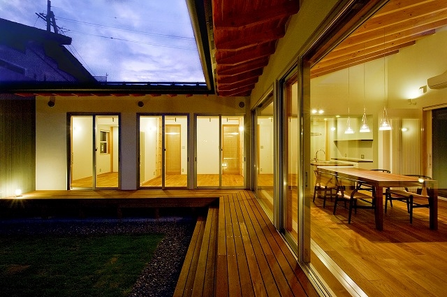 窓辺の家 -window scape-の部屋 夕景 南