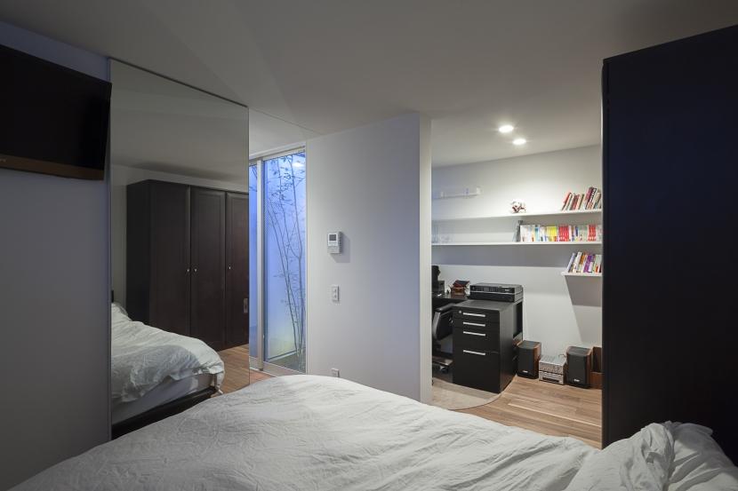 ソラのいえの部屋 ベッドルーム