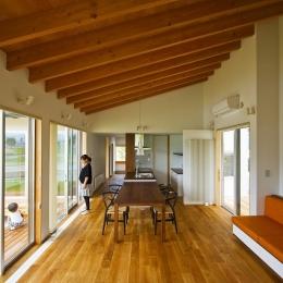 窓辺の家 -window scape- (リビング・ダイニング キッチン)