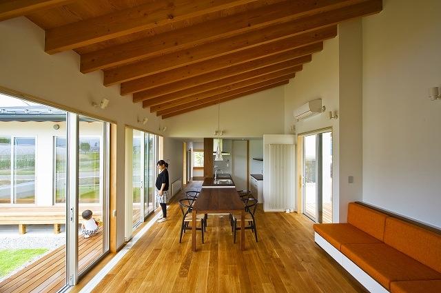 窓辺の家 -window scape-の部屋 リビング・ダイニング キッチン