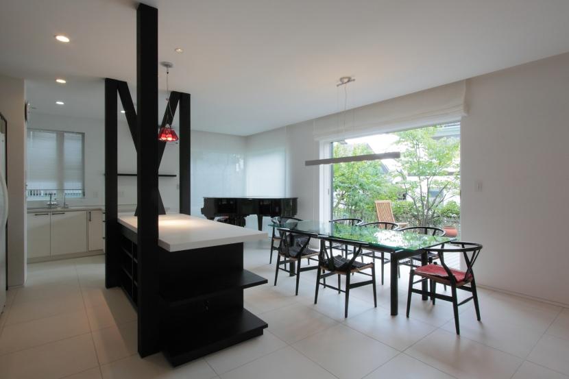 建築家:目時亮「長野上松の家 -spazio unico-」