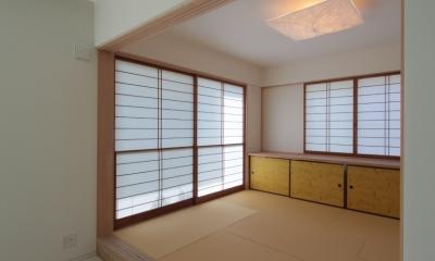 長野上松の家 -spazio unico- (和室)