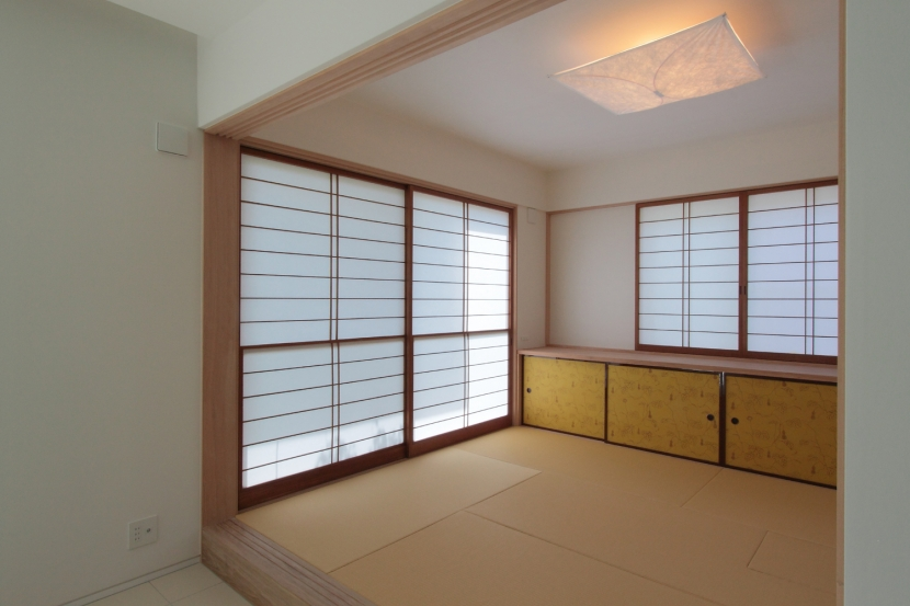 長野上松の家 -spazio unico-の写真 和室