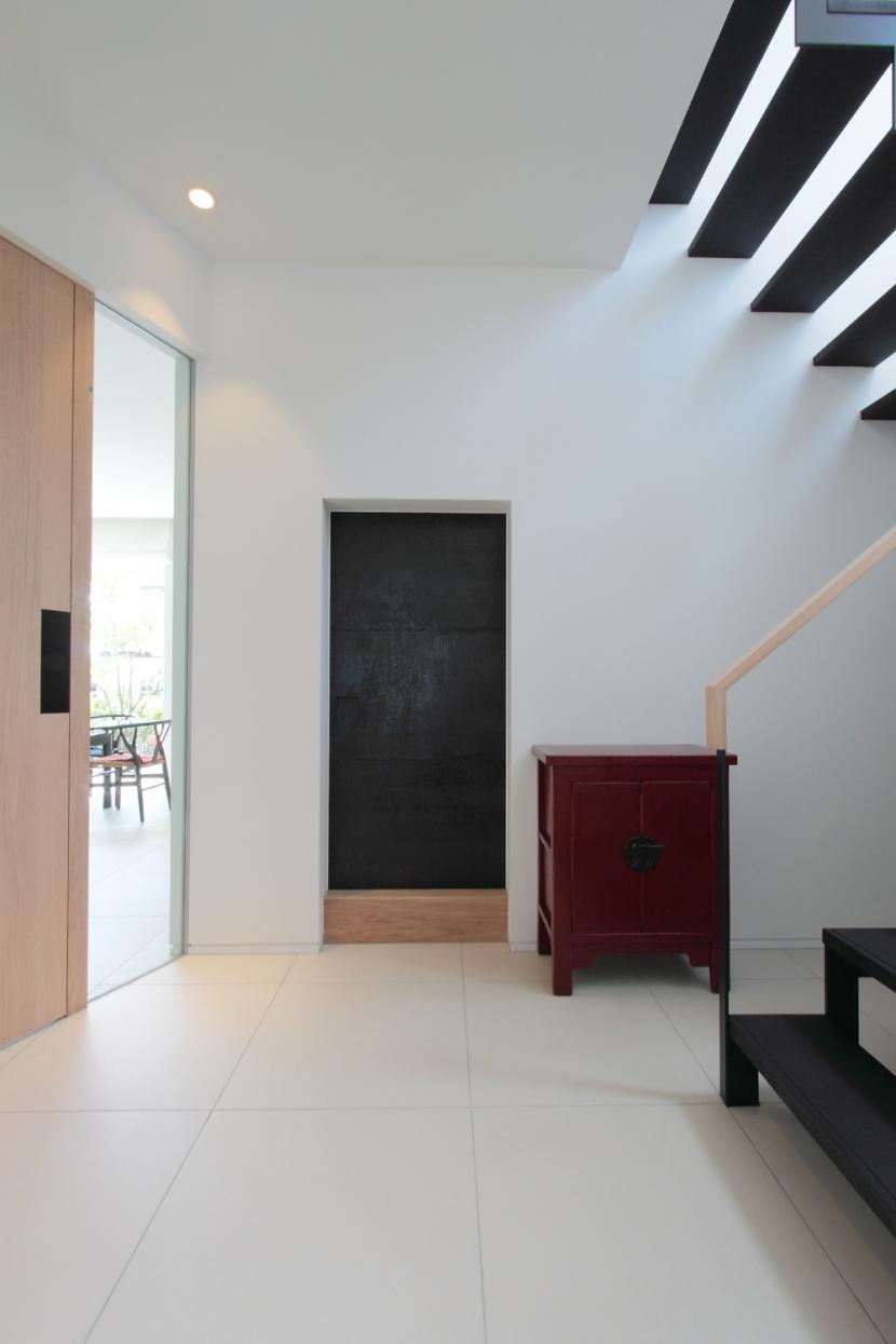 長野上松の家 -spazio unico-の部屋 ホール