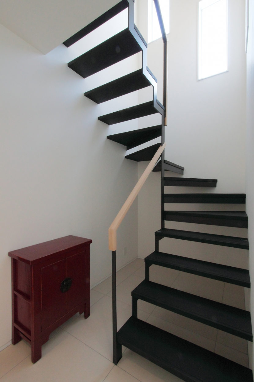 長野上松の家 -spazio unico-の写真 階段