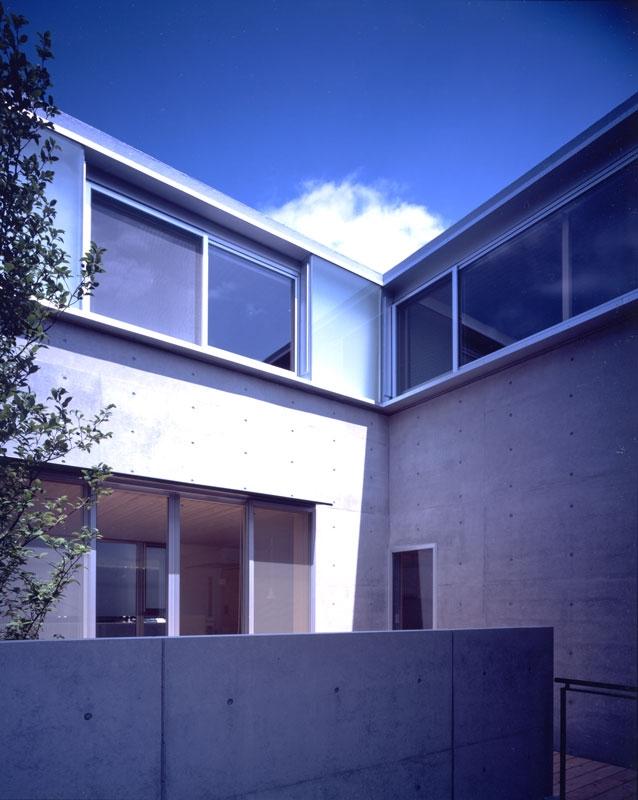 I-HOUSEの部屋 中庭