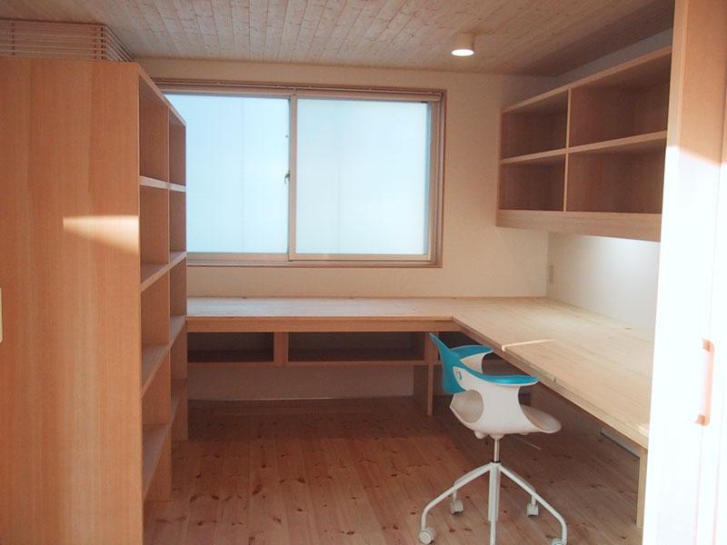 I-HOUSEの部屋 書斎
