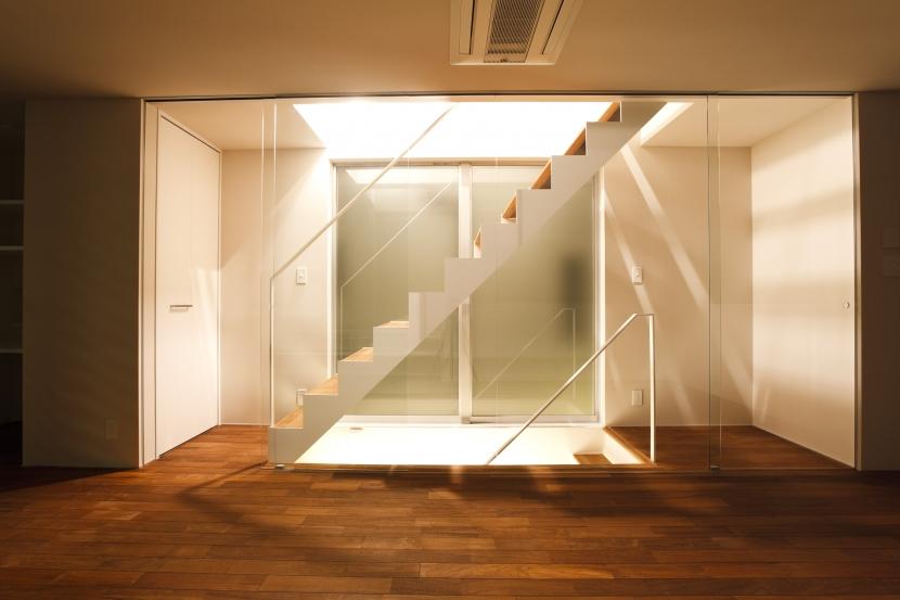 cheminの部屋 階段