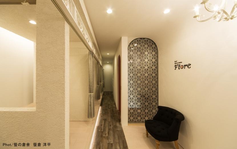 空堀のネイルサロンの部屋 内観