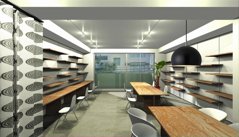 オフィスビル改修PJの部屋 オフィス