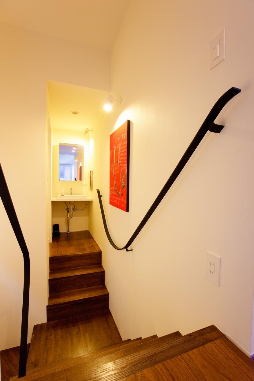 melangeの部屋 階段