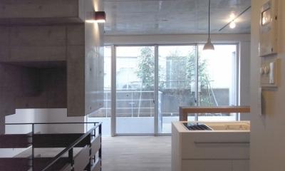 NS邸 ワンルーム空間のメゾネット住宅