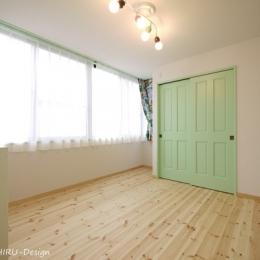 フレンチナチュラルスタイルの家 (子ども部屋2)