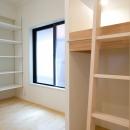 立体2段ベッドのこども部屋