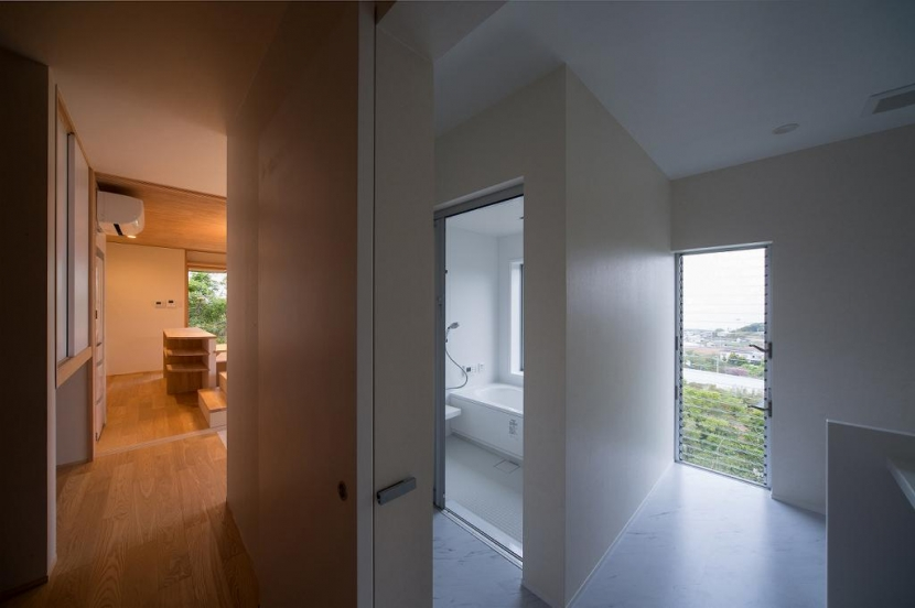 Tei 海がみえる家の部屋 洗面脱衣室
