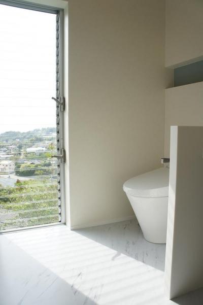 洗面脱衣室 (Tei 海がみえる家)
