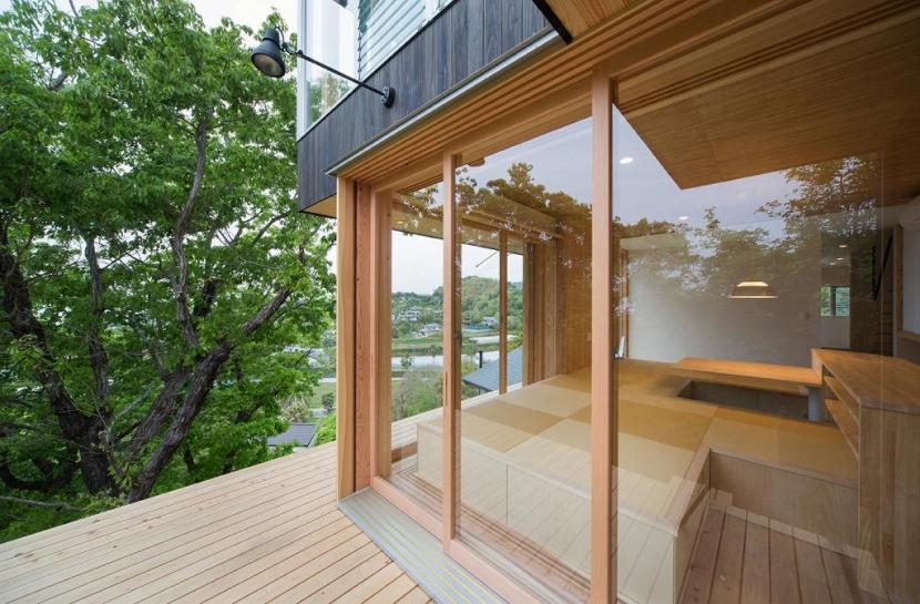 建築家:上森 雅明/上森 こくとう「Tei 海がみえる家」